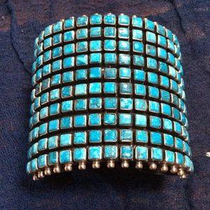 Jewelry - Raymond Betsoi Turquoise Cuff